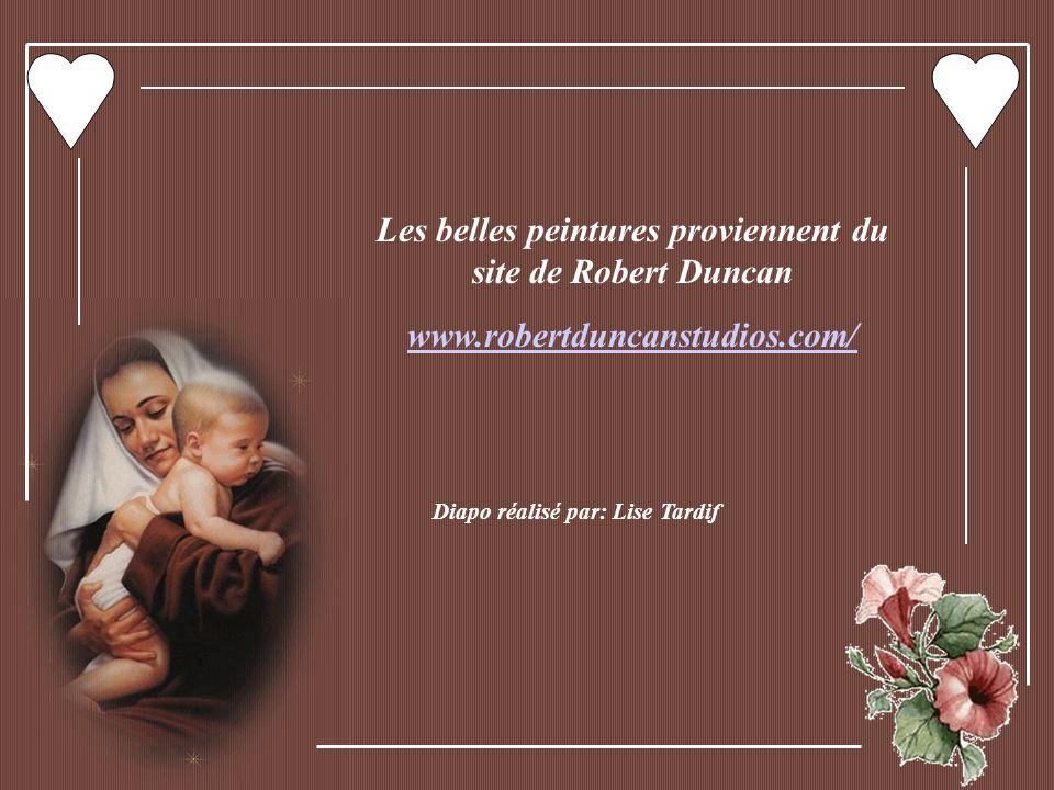 Les belles peintures proviennent du site de Robert Duncan