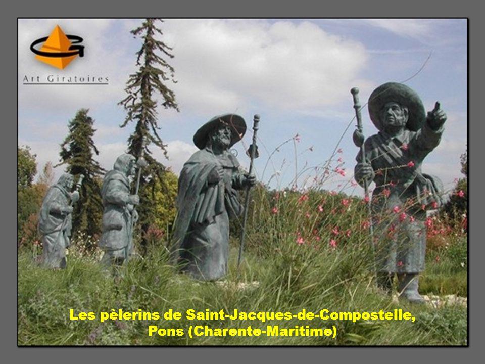 Les pèlerins de Saint-Jacques-de-Compostelle, Pons (Charente-Maritime)