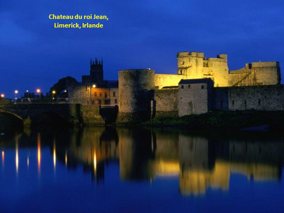 Chateau du roi Jean, Limerick, Irlande