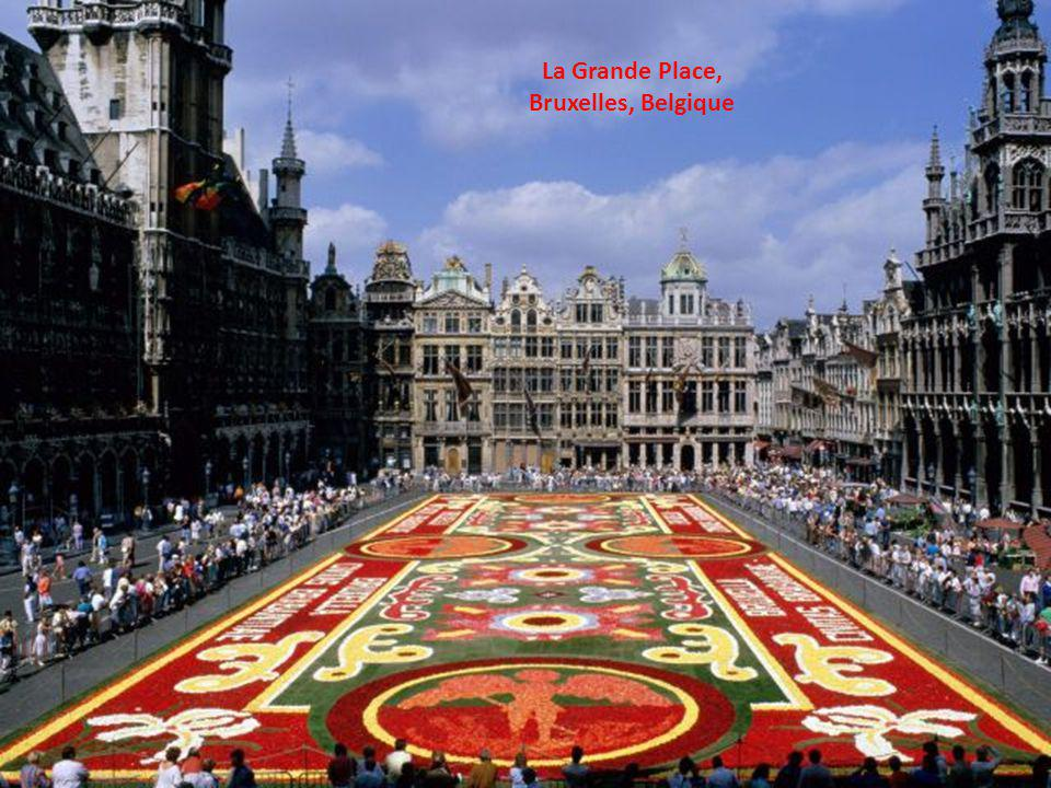 La Grande Place, Bruxelles, Belgique