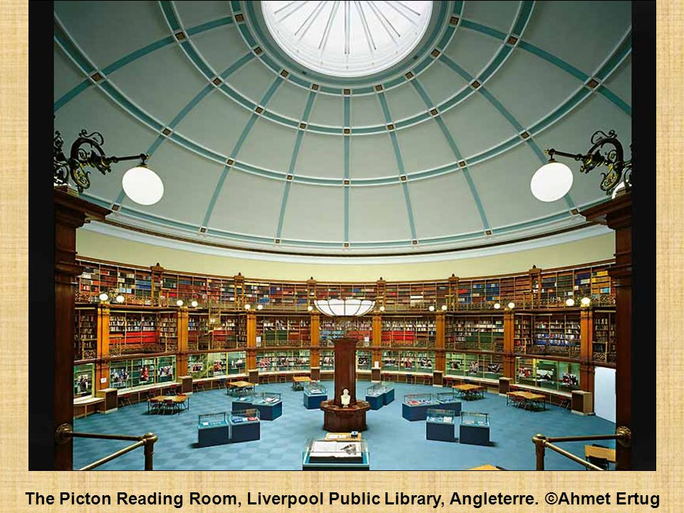 The Picton Reading Room, Liverpool Public Library, Angleterre