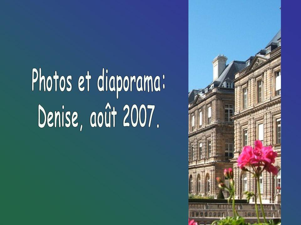 Photos et diaporama: Denise, août 2007.