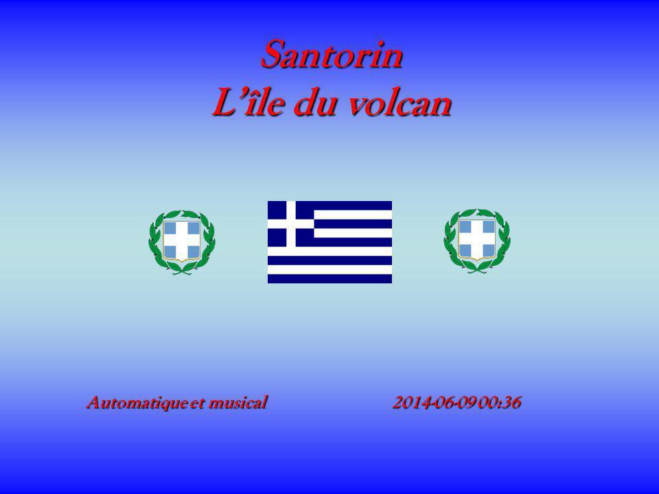 Santorin L'île du volcan