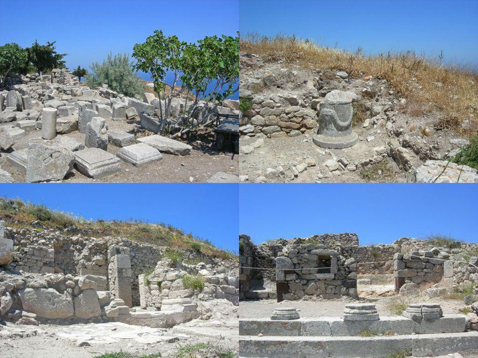 Cité antique de Théra, découverte par Hiller Von Gärtringer.