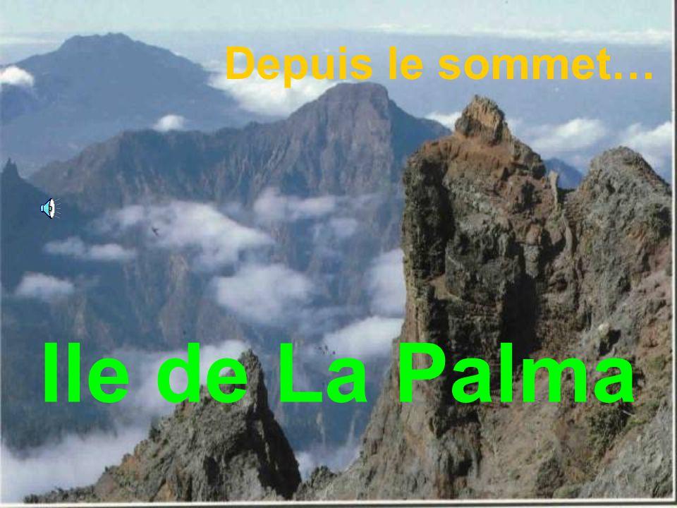 Depuis le sommet… Ile de La Palma