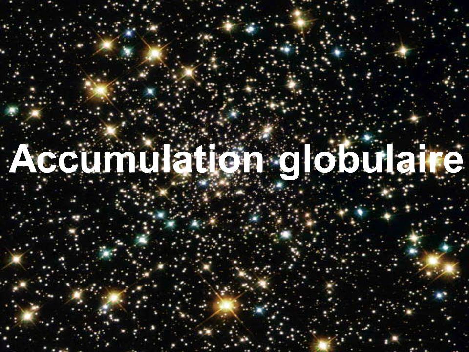 Accumulation globulaire