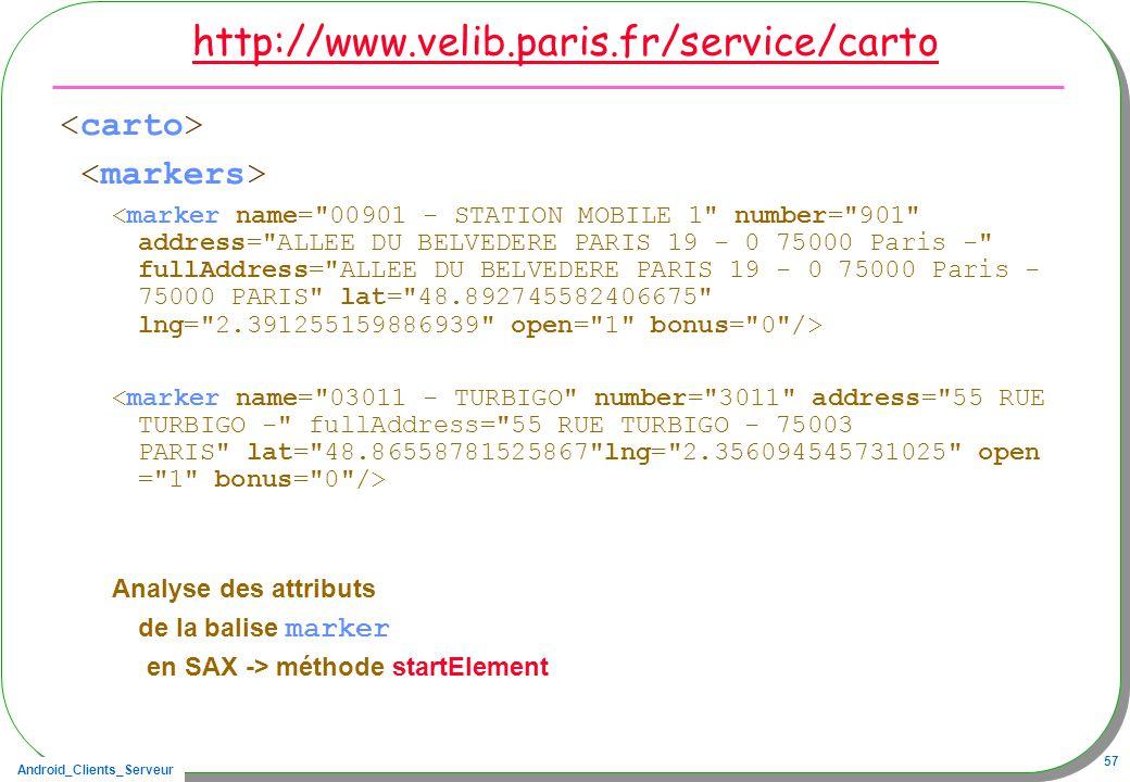 http://www.velib.paris.fr/service/carto <carto> <markers>