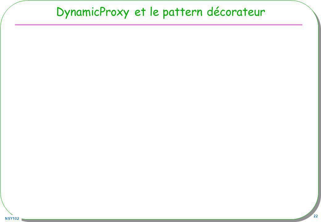 DynamicProxy et le pattern décorateur