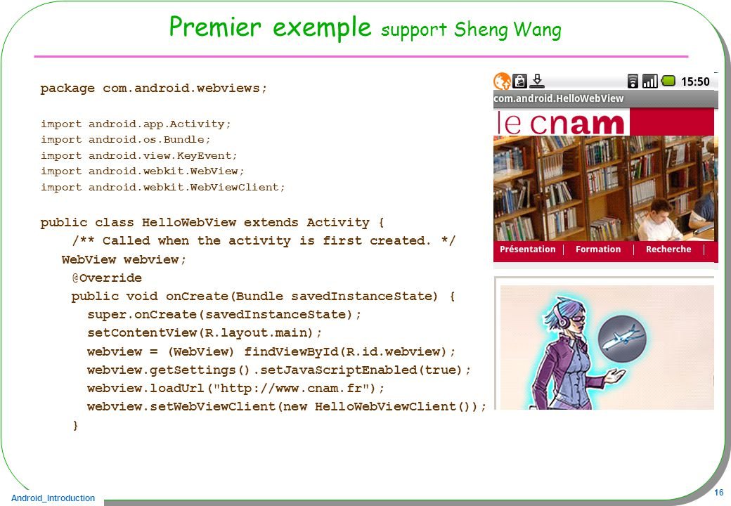 Premier exemple support Sheng Wang