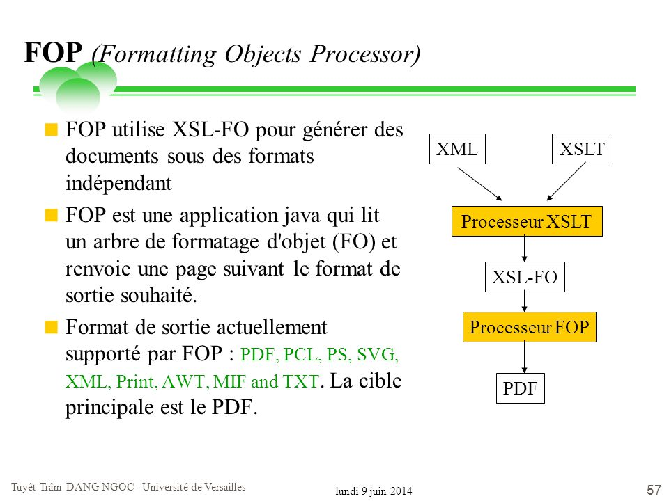 FOP (Formatting Objects Processor)
