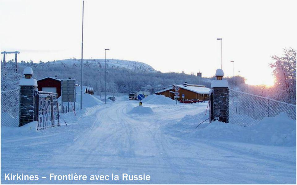 Kirkines – Frontière avec la Russie
