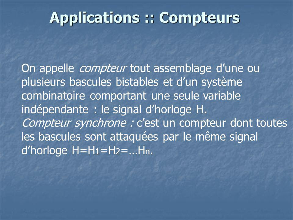 Applications :: Compteurs