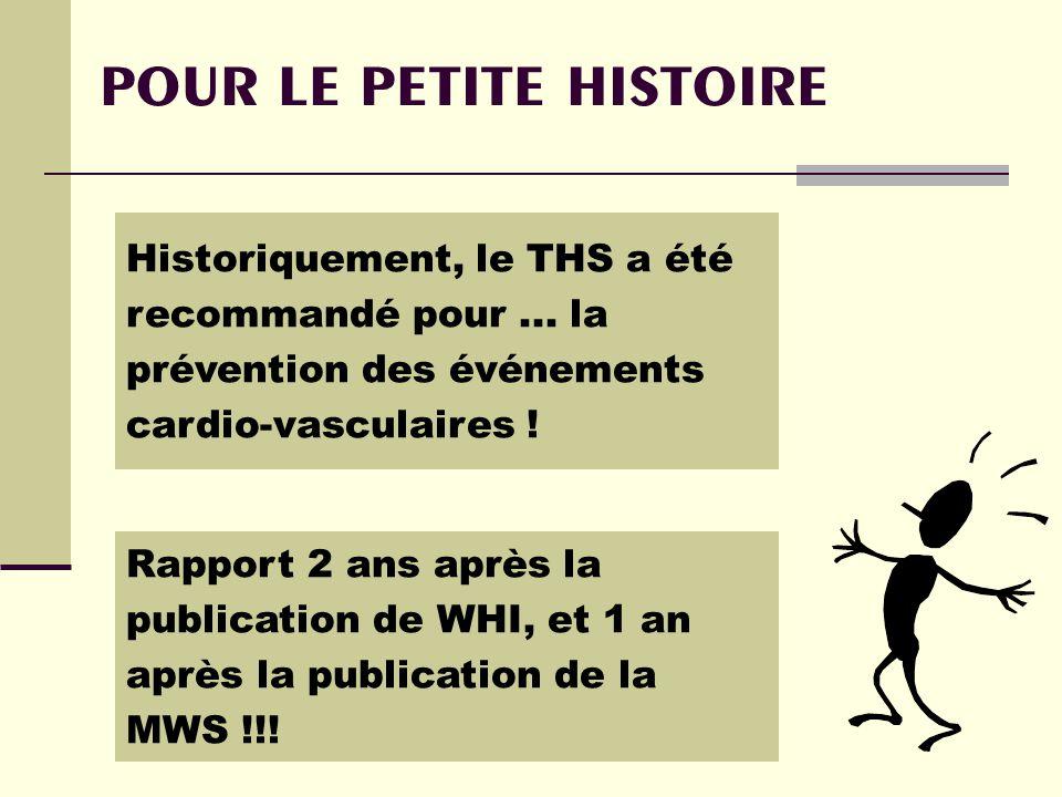 POUR LE PETITE HISTOIRE