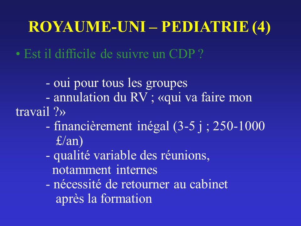 ROYAUME-UNI – PEDIATRIE (4)