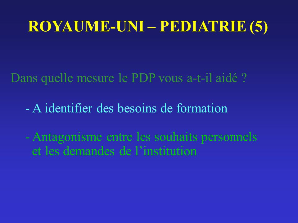 ROYAUME-UNI – PEDIATRIE (5)