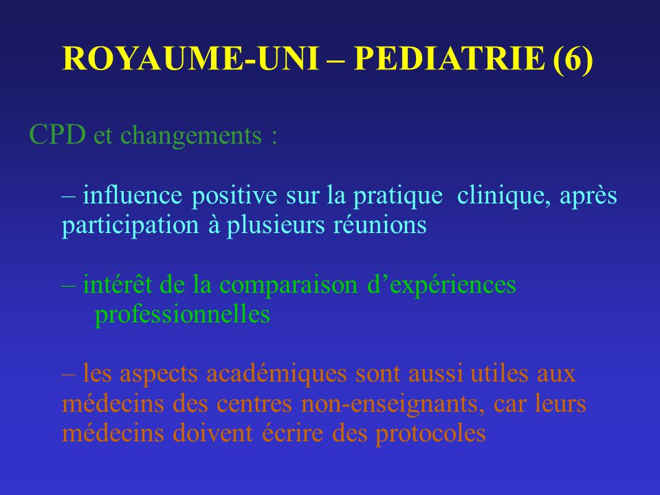 ROYAUME-UNI – PEDIATRIE (6)