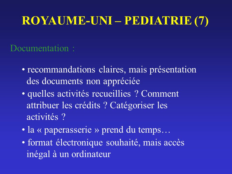 ROYAUME-UNI – PEDIATRIE (7)