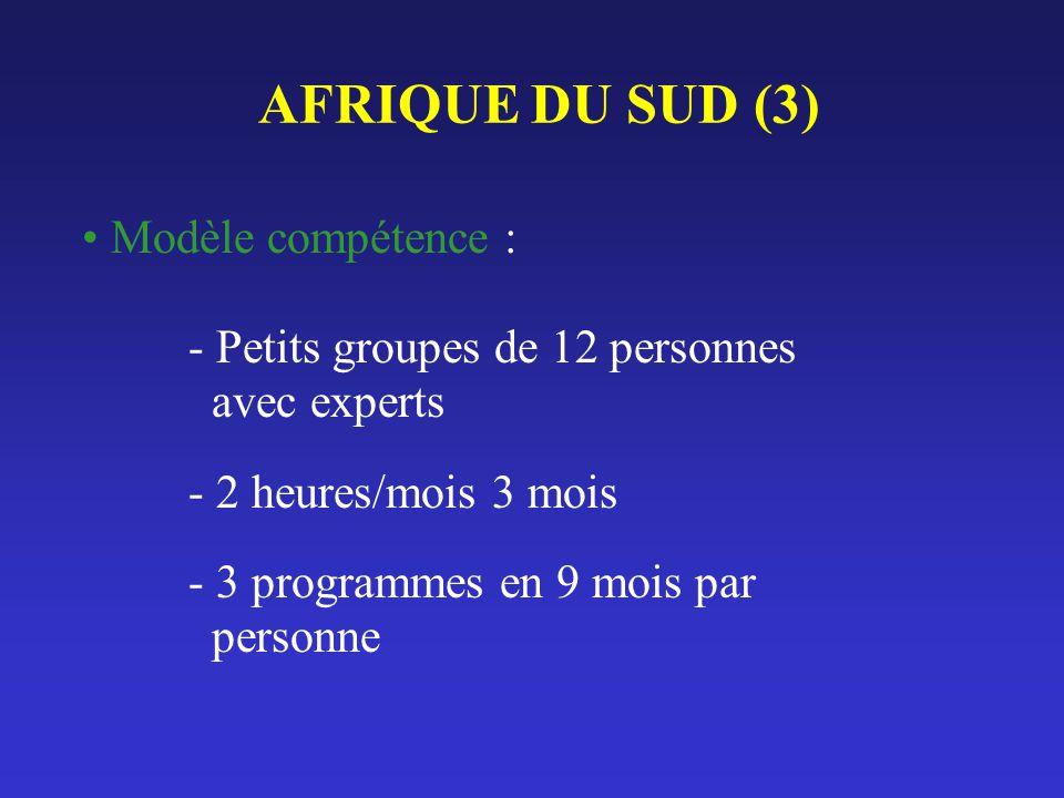 AFRIQUE DU SUD (3) Modèle compétence :