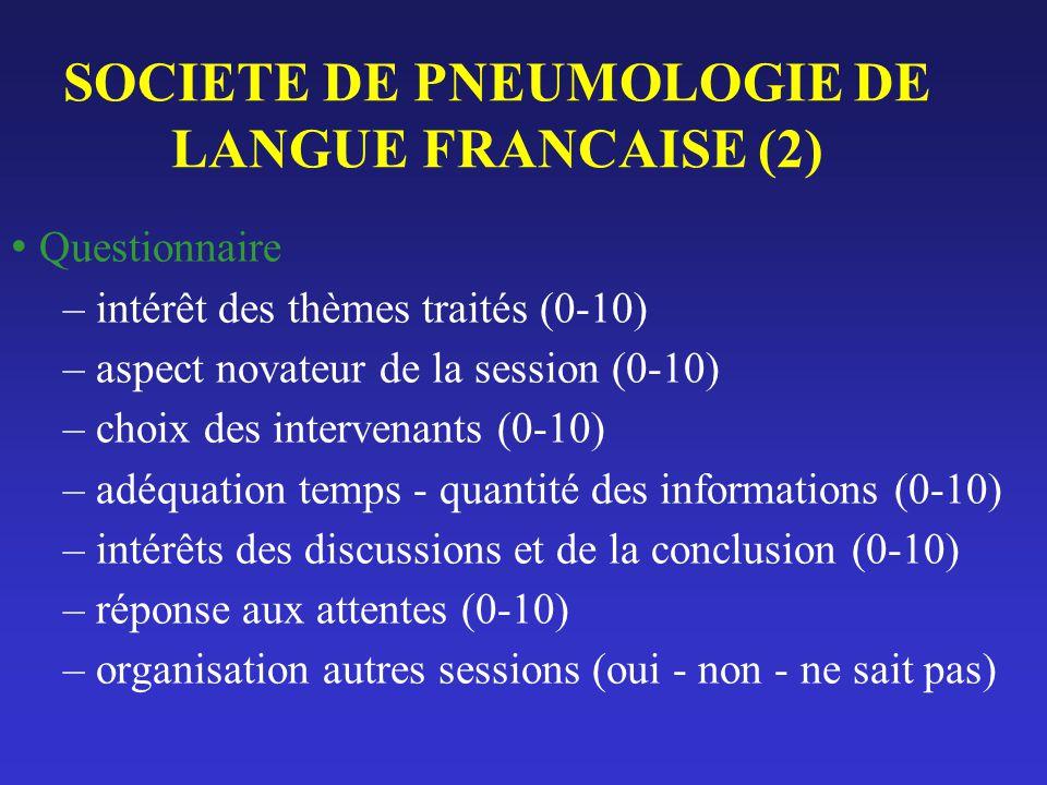 SOCIETE DE PNEUMOLOGIE DE LANGUE FRANCAISE (2)