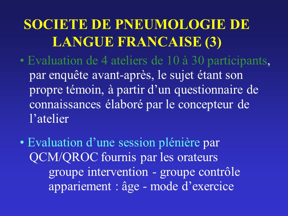 SOCIETE DE PNEUMOLOGIE DE LANGUE FRANCAISE (3)