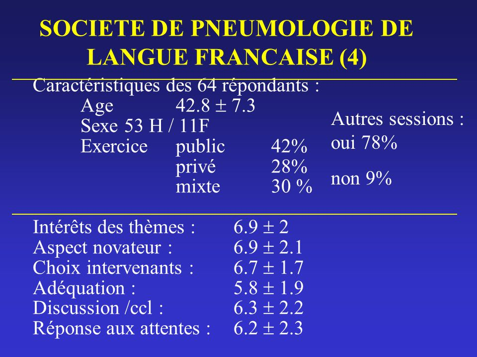 SOCIETE DE PNEUMOLOGIE DE LANGUE FRANCAISE (4)