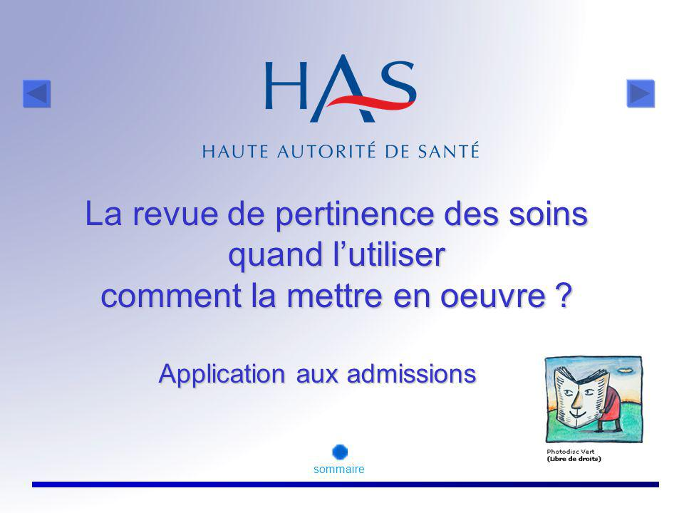 Application aux admissions
