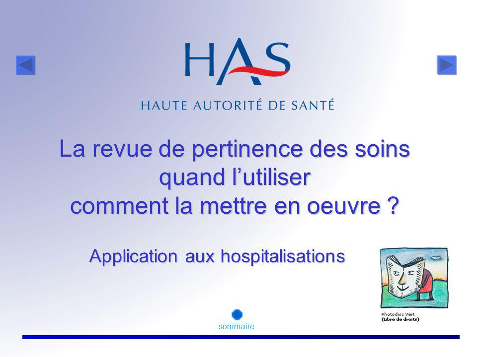 Application aux hospitalisations