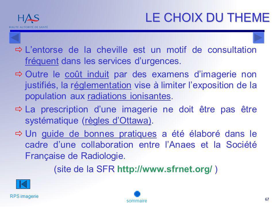 (site de la SFR http://www.sfrnet.org/ )