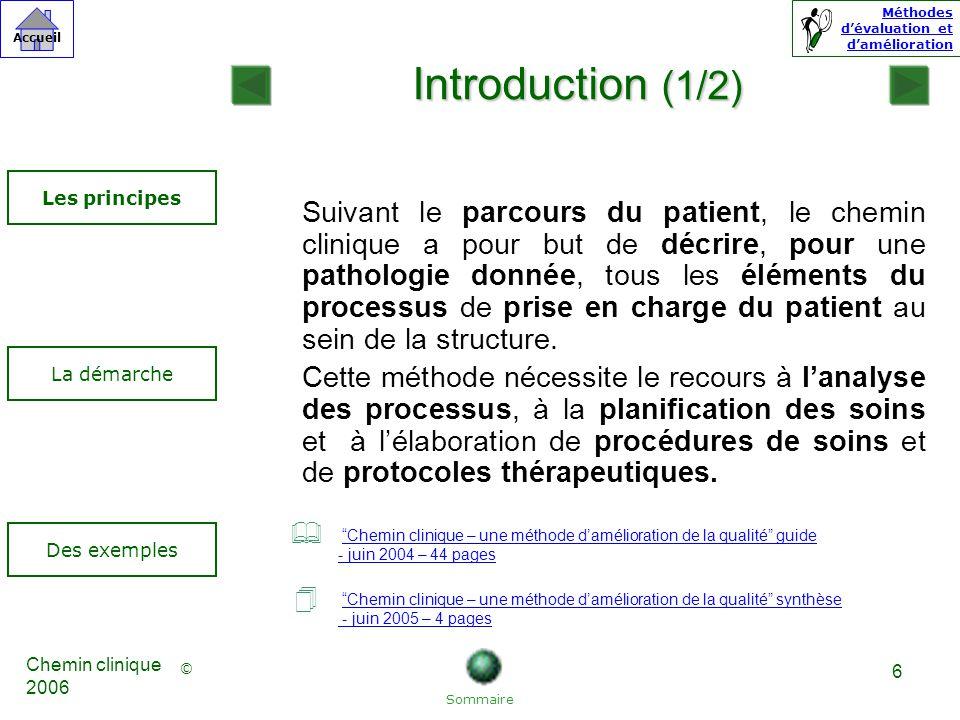 Introduction (1/2) Les principes.