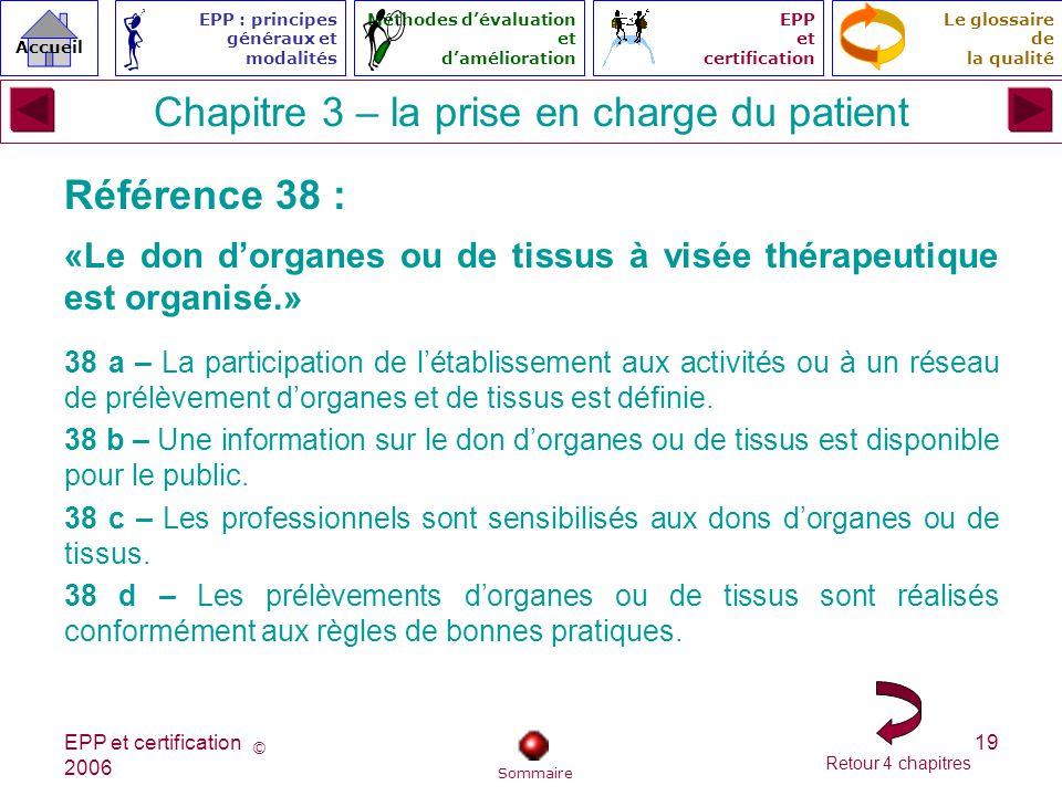 Chapitre 3 – la prise en charge du patient
