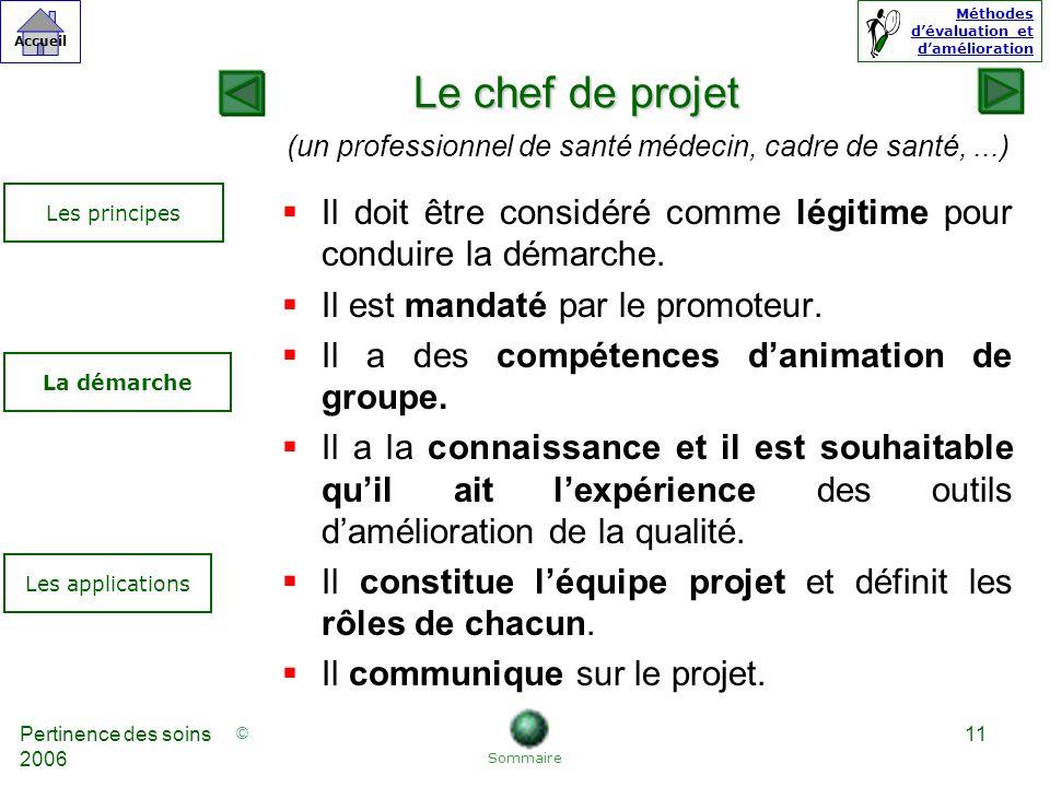 (un professionnel de santé médecin, cadre de santé, ...)