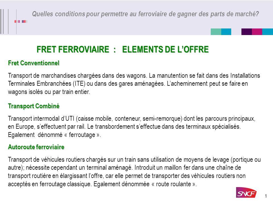 L'ACTIVITE DE FRET-SNCF EN 2005