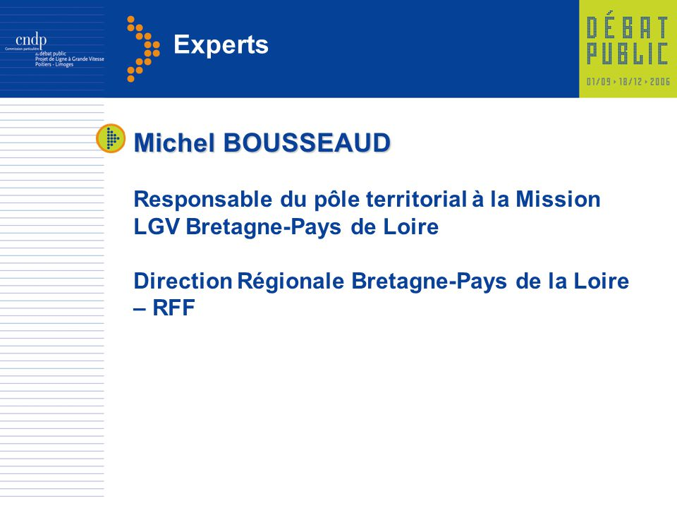 Experts Michel BOUSSEAUD