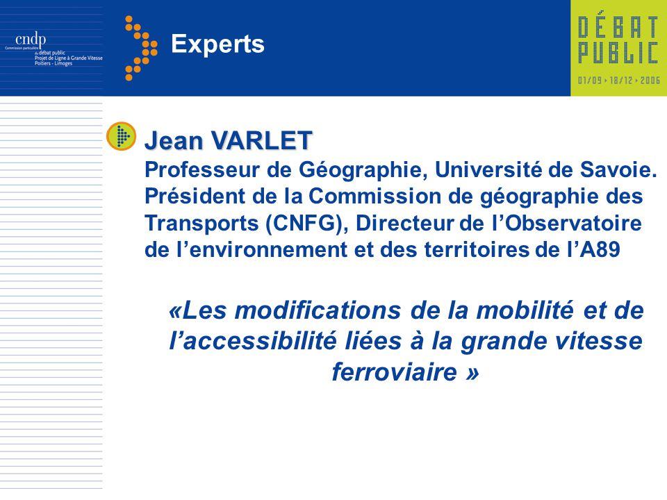 Experts Jean VARLET.