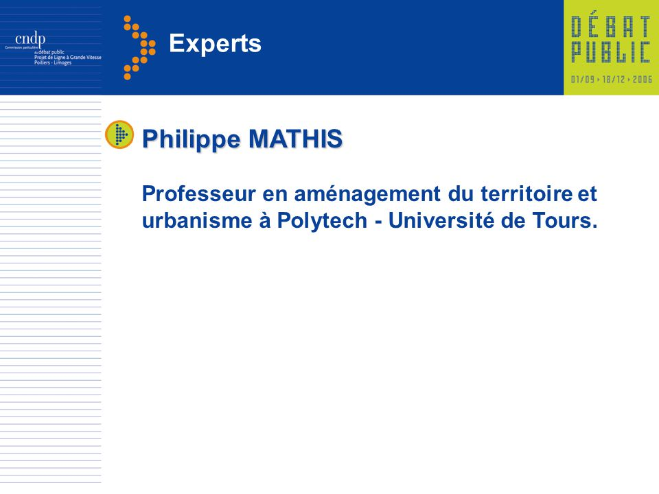 Experts Philippe MATHIS