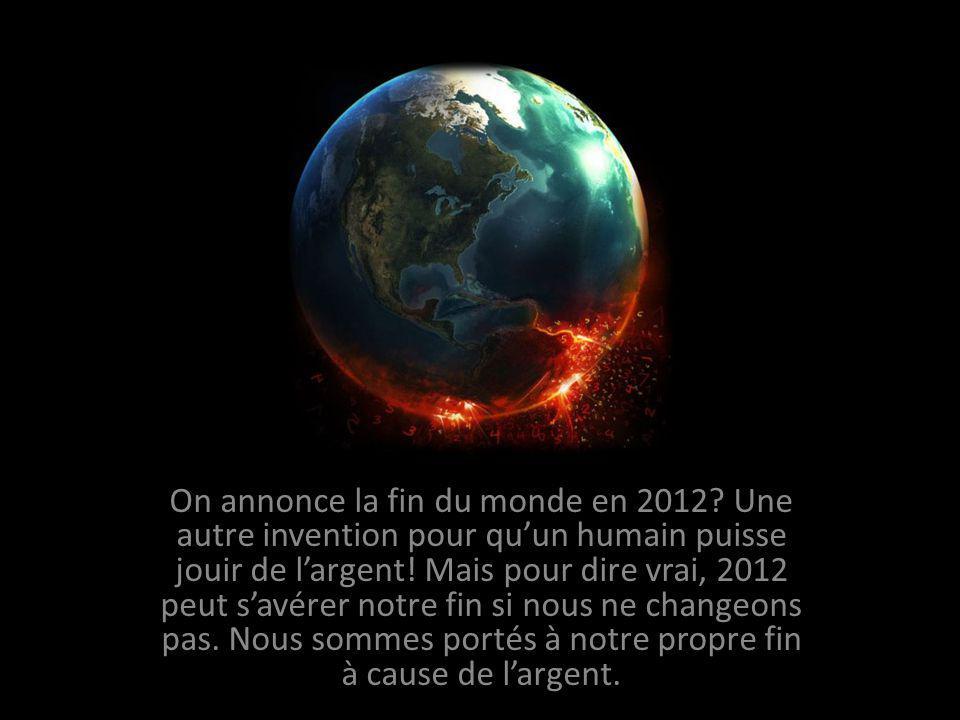 On annonce la fin du monde en 2012