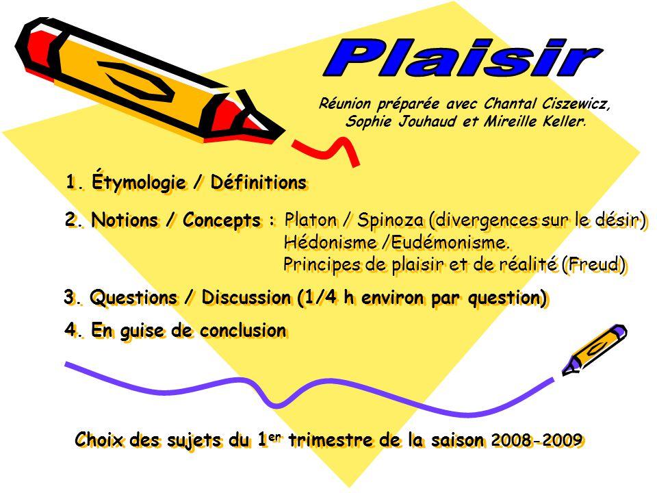 Plaisir Réunion préparée avec Chantal Ciszewicz, Sophie Jouhaud et Mireille Keller.