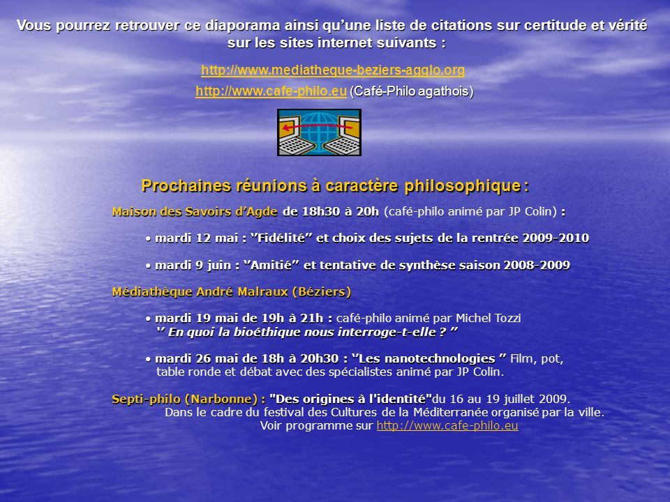 sur les sites internet suivants :