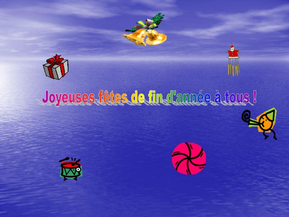 Joyeuses fêtes de fin d année à tous !