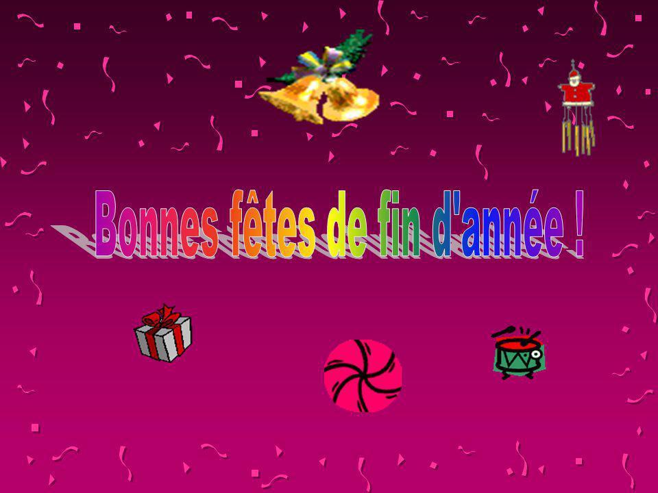 Bonnes fêtes de fin d année !