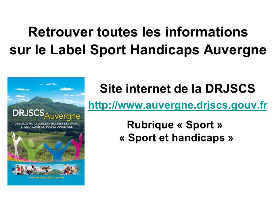 Site internet de la DRJSCS