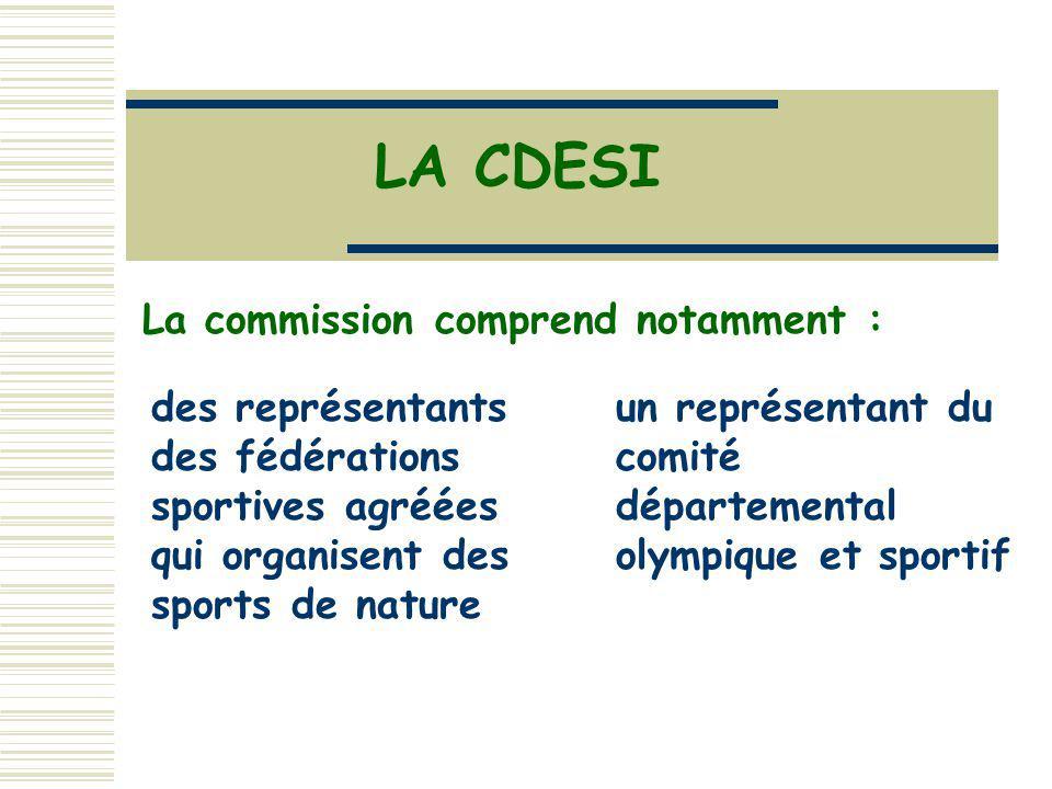 un représentant du comité départemental olympique et sportif