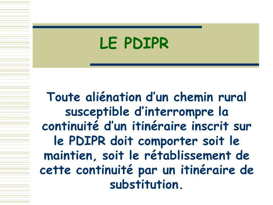 LE PDIPR