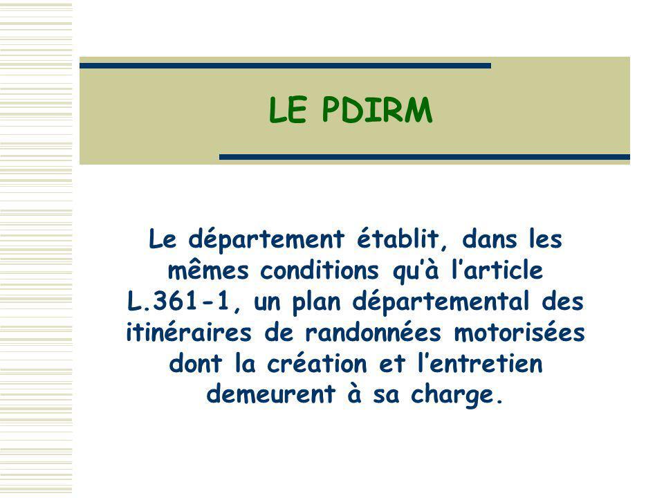 LE PDIRM
