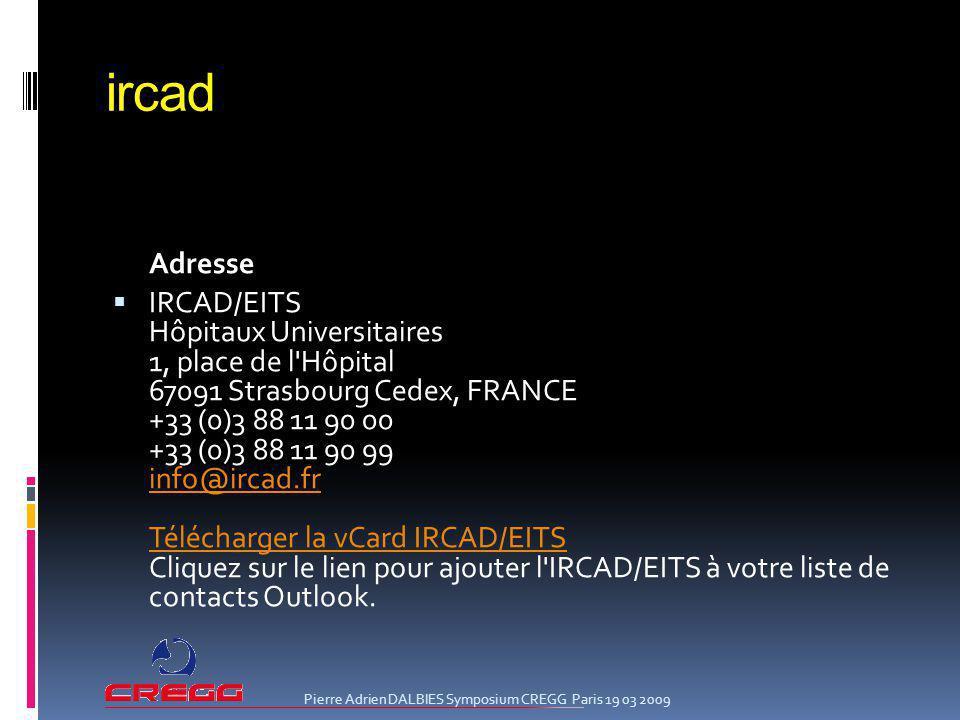 ircad Adresse.