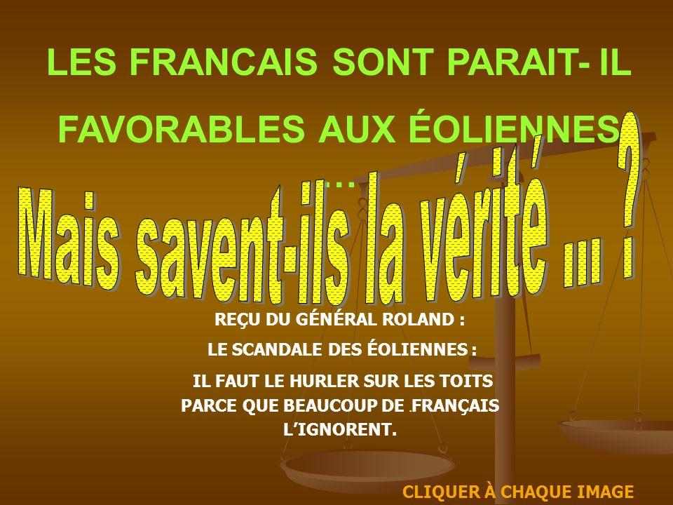 LES FRANCAIS SONT PARAIT- IL FAVORABLES AUX ÉOLIENNES …