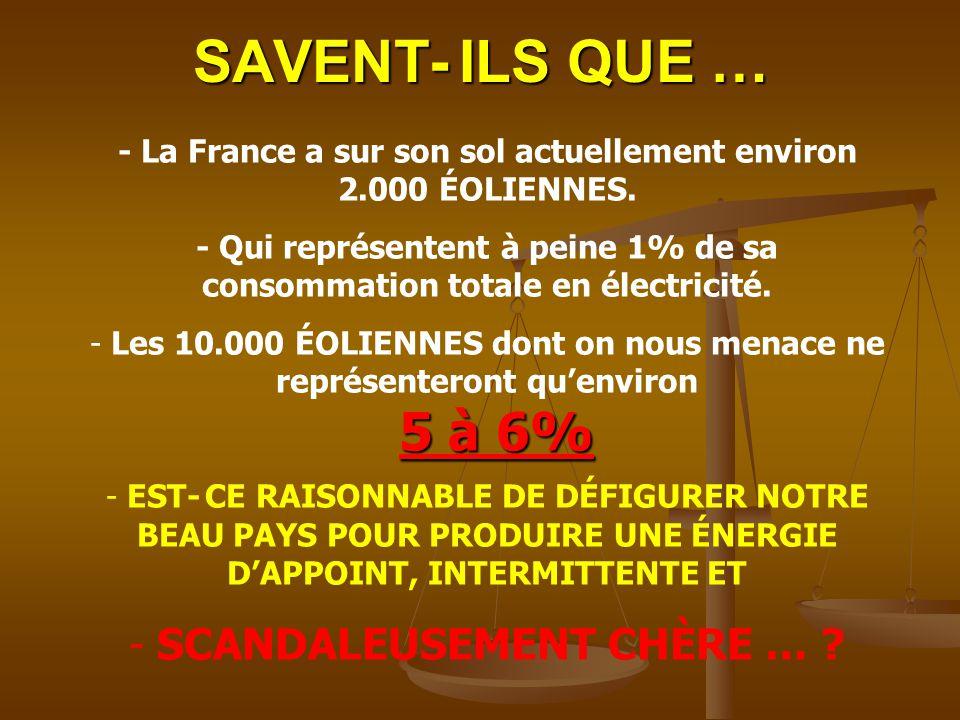 SAVENT- ILS QUE … SCANDALEUSEMENT CHÈRE …