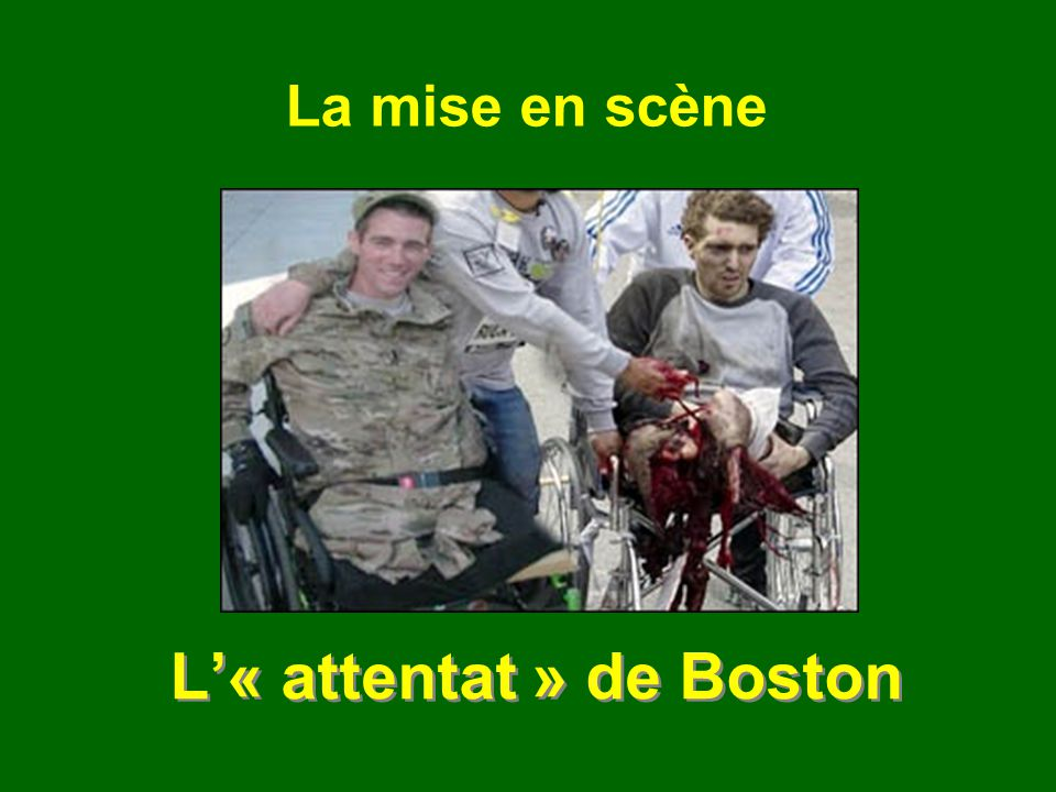 L'« attentat » de Boston