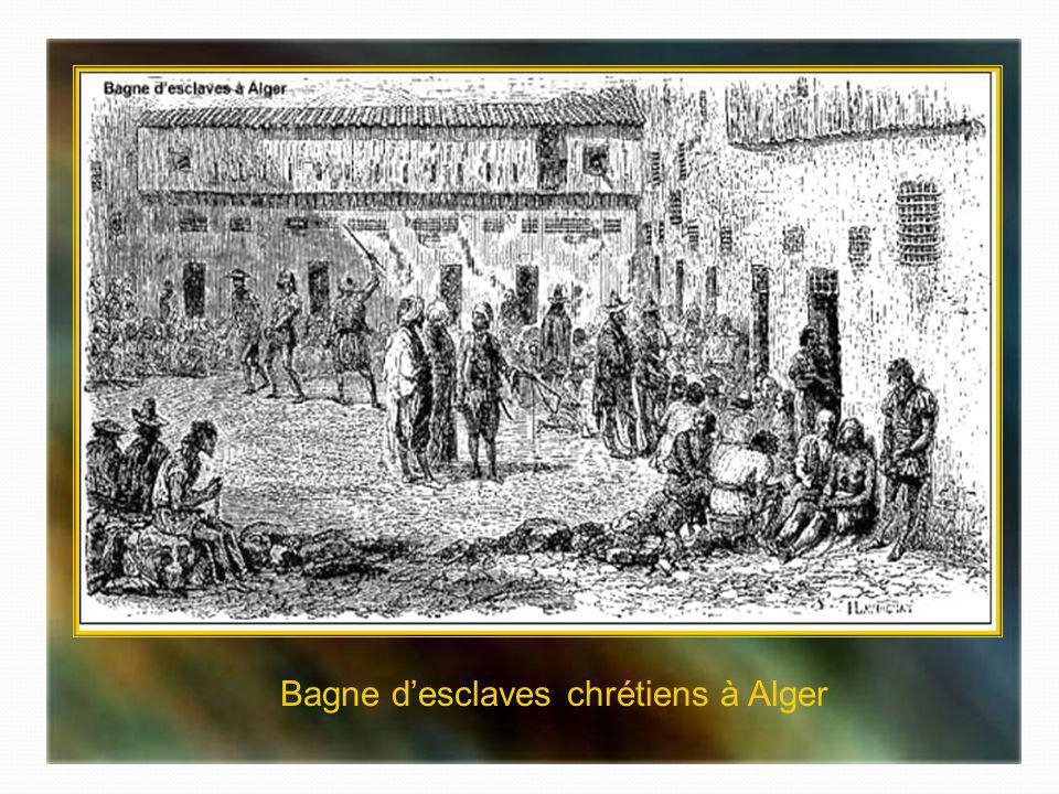 Bagne d'esclaves chrétiens à Alger