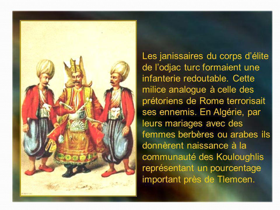 Les janissaires du corps d'élite de l'odjac turc formaient une infanterie redoutable.